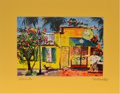 Martha dePoo at 7 Artists and Friends in Wet Paint Gallery Key West, Florida