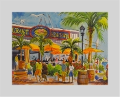 Karen Beauprie Giclée prints available at 7 Artists & Friends Key West